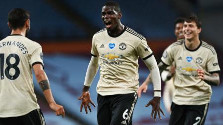 Menang atas Crystal Palace di laga Liga Inggris lanjutan, Manchester United dua kali dibantu oleh VAR. - INDOSPORT