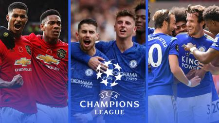 Menakar Peluang Man United, Chelsea, Leicester Lolos ke Liga Champions. - INDOSPORT
