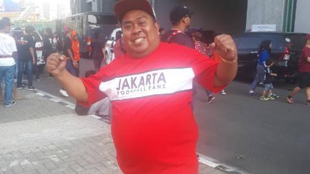 Nama Eks Ketua Umum (Ketum) Jakmania, Muhammad Larico Renggamone, mungkin sudah tak asing terlebih bagi suporter setia Persija Jakarta. - INDOSPORT