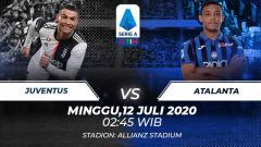 Indosport - Berikut link live streaming pertandingan sepak bola lanjutan kompetisi Serie A Liga Italia pada pekan ke-32 antara Juventus vs Atalanta.