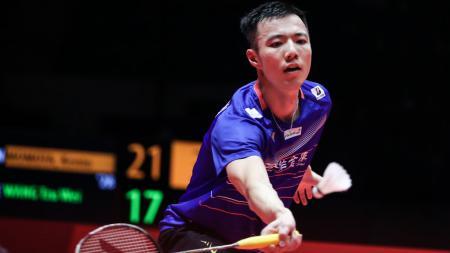 Pernah hadapi dua orang dari member Big Four Kings, begini kesan rival Jonatan Christie sekaligus wakil Chinese Taipei, yakni Wang Tzu Wei. - INDOSPORT