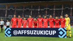 Indosport - Timnas Singapura di Piala AFF 2018.