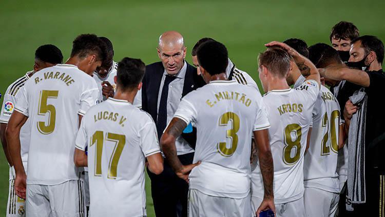 Meski Bantu Juara LaLiga, Zidane Usir Paksa 9 Bintang Real Madrid