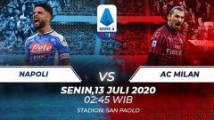 Indosport - Berikut tersaji prediksi pertandingan Serie A Liga Italia antara Napoli vs AC Milan dimana kedua tim sama-sama berpeluang menciptakan kejutan.