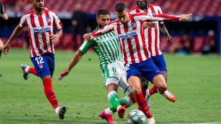 Atletico Madrid baru saja menyelesakan pertandingan pekan ke-36 LaLiga Spanyol melawan Real Betis, Minggu (12/07/20) dini hari WIB. - INDOSPORT