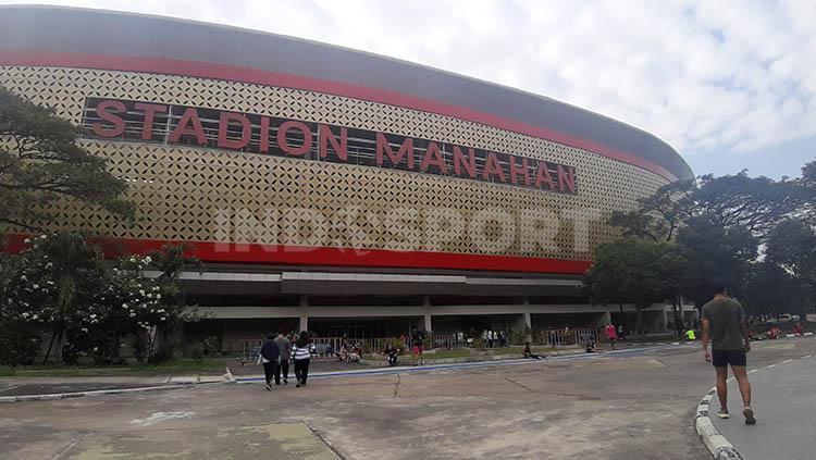 Stadion manahan dibuka lagi Copyright: Ronald Seger Prabowo/INDOSPORT