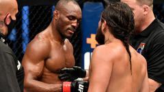 Indosport - Kamaru Usman juara UFC ledek petarung MMA Indonesia. Berikut top 5 news INDOSPORT.