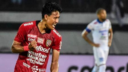 Bek Bali United, I Made Andhika Wijaya gembira mendengar rilis jadwal terbaru Piala AFC 2020 Grup G. - INDOSPORT