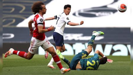 Tottenham Hotspur berhasil mengalahkan Arsenal di ajang Liga Inggris 2019-2020 pada pekan ke-35. - INDOSPORT