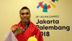 Indosport - Apa kabar karateka asal Sumatera Utara (Sumut), Jintar Simanjuntak, penyumbang medali perunggu bagi kontingen Indonesia di Asian Games 2018 Jakarta - Palembang.