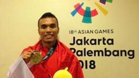 Apa kabar karateka asal Sumatera Utara (Sumut), Jintar Simanjuntak, penyumbang medali perunggu bagi kontingen Indonesia di Asian Games 2018 Jakarta - Palembang. - INDOSPORT