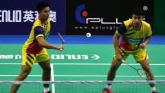 Indosport - Pasangan Malaysia Goh Sze Fei/Nur Izzuddin yang merupakan anak didikan pelatih asal Indonesia kembali tumbang di babak pertama Toyota Thailand Open 2021.