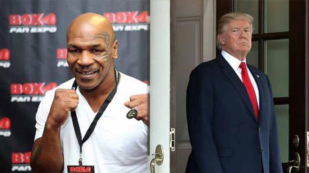 Legenda tinju dunia, Mike Tyson ternyata pernah mempekerjakan Presiden Amerika Serikat, Donald Trump sebagai karyawannya. Bagaimana bisa? - INDOSPORT