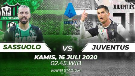 Berikut link live streaming pertandingan sepak bola lanjutan kompetisi Serie A Liga Italia pada pekan ke-33 antara Sassuolo vs Juventus. - INDOSPORT