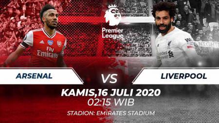 Berikut link live streaming pertandingan Liga Inggris antara Arsenal vs Liverpool, Kamis (16/07/20). - INDOSPORT