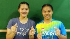 Indosport - Pebulutangkis Indonesia, Lanny Tria Mayasari dan Jesita Putri Miantoro.