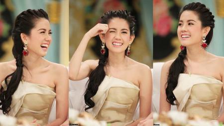 Ternyata angkat besi menjadi rahasia model cantik Thailand, Pattrakorn Tungsupakul memiliki tubuh seksi idaman para wanita. - INDOSPORT