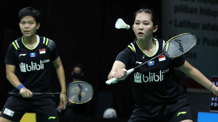 Hasil Pertandingan Yonex Thailand Open 2021: Siti/Ribka Kandas di Tangan Ganda Prancis