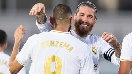 Karim Benzema tidak menampik bila suatu saat dia diberi kesempatan untuk memimpin Real Madrid. Bukan sebagai pemain melaikan sebagai pelatih. - INDOSPORT