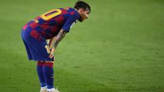 Indosport - Megabintang klub LaLiga Barcelona, Lionel Messi terlihat mendatangi fasilitas latihan klub, padahal tengah mendapat jatah libur.