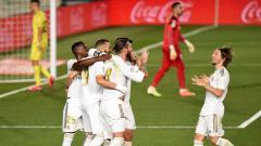 Indosport - Hadapi Manchester City di leg kedua 16 besar Liga Champions, Real Madrid bisa 'contek' strategi Wolverhampton Wanderers (Wolves).