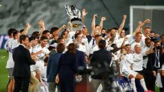 Indosport - Real Madrid telah menemukan 2 tim untuk menjadi lawan mereka dalam laga uji coba jelang LaLiga Spanyol 2020/21 yang akan digelar sebentar lagi.