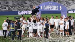 Indosport - Sampai saat ini, juara LaLiga Spanyol musim 2019/2020, Real Madrid rupanya belum menambah amunisinya dengan mendatangkan pemain baru.