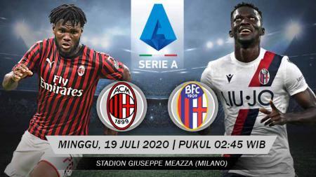 AC Milan akan segera berhadapan dengan Bologna pada laga pekan ke-34 Serie A Liga Italia. Anda bisa menyaksikan pertandingan tersebut melalui live streaming. - INDOSPORT