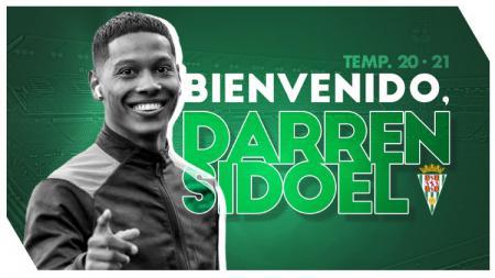 Tampaknya ada 3 pesaing pemain Belanda keturunan Indonesia Darren Sidoel usai resmi gabung klub Liga 3 Spanyol Cordoba CF 2020-21. - INDOSPORT