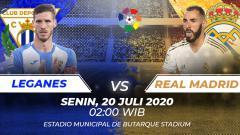 Indosport - Berikut prediksi pertandingan antara Leganes vs Real Madrid di pekan terakhir LaLiga Spanyol pada Senin (20/07/20) dini hari WIB.