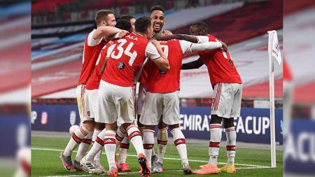 Tujuh bintang ini bakal ditumbalkan Arsenal jelang bursa transfer lanjutan demi datangkan dua pemain anyar, Thomas Partey dan Gabriel Magalhaes. - INDOSPORT