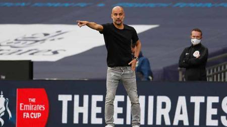 Singkirkan Real Madrid di babak 16 besar dan melaju ke babak perempatfinal, Pep Guardiola menyebut jika Manchester City layak menjadi juara Liga Champions. - INDOSPORT