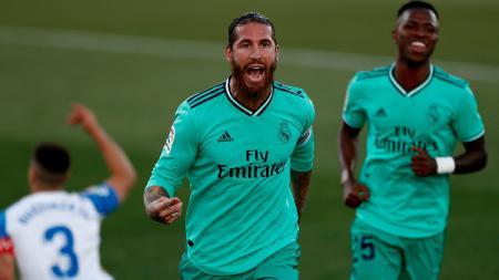 Liga Champions: 3 Momen Real Madrid Kalah Tanpa Sergio Ramos - INDOSPORT