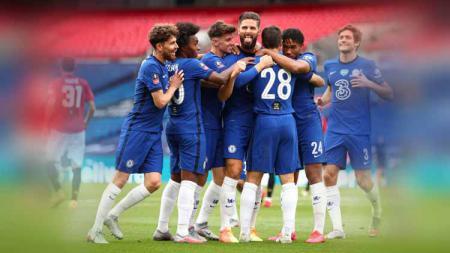 Raksasa Liga Inggris, Chelsea, bisa memanfaatkan pemainnya sendiri ketimbang mendatangkan seorang Kai Havertz. - INDOSPORT