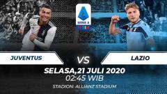 Indosport - Berikut link live streaming pertandingan Serie A Italia 2019/20 pekan ke-34 antara Juventus vs Lazio, Selasa (21/07/20) dini hari WIB.