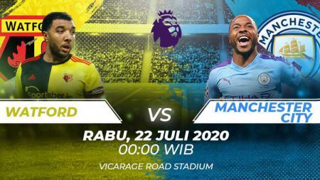 Berikut prediksi pertandingan sepak bola lanjutan kompetisi Liga Inggris pada pekan ke-37 antara Watford vs Manchester City. - INDOSPORT