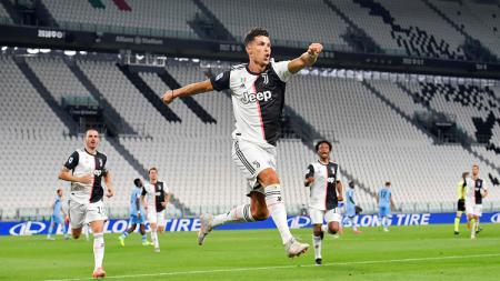 Top skor Serie A Liga Italia, Kamis (23/07/20), Cristiano Ronaldo dan Ciro Immobile bersaing ketat. - INDOSPORT