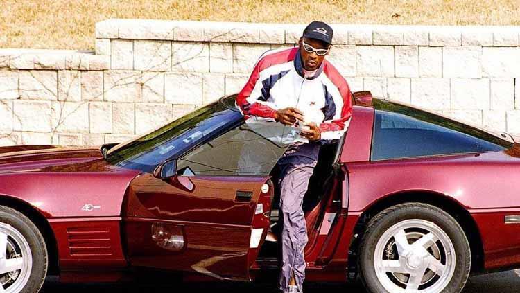 Mobil Michael Jordan Chevrolet Corvette C4 Copyright: nss sports