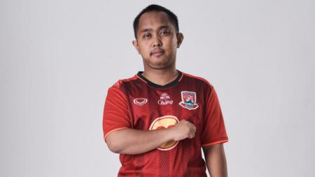 Elga Cahya Putra dari Madura United kembali meraih tiga poin di ajang Indonesian Football e-League (IFeL) 2020 pekan ketiga, Sabtu (26/09/20) lalu. - INDOSPORT