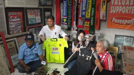 Keberadaan Museum Pasoepati di Kampung Nayu, Nusukan, Solo terus memantik minat para pelaku sepak bola, baik yang masih aktif maupun sudah pensiun. - INDOSPORT