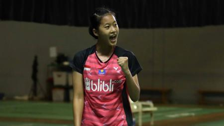 Putri Kusuma Wardani atau Putri KW di Mola TV PBSI Home Tournament 2020. - INDOSPORT