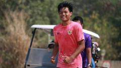 Indosport - Kartika Vedhayanto ketika melakoni TC Timnas U-19 di Thailand beberapa waktu lalu.