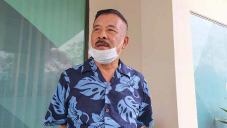 Komisaris PT PBB, Umuh Muchtar di Stadion Si Jalak Harupat, Kabupaten Bandung - INDOSPORT