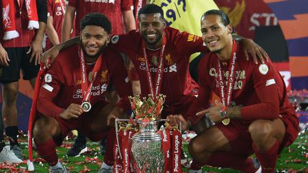 Akankah Georginio Wijnaldum tetap tinggal di Liverpool? - INDOSPORT