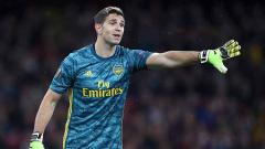 Indosport - Emiliano Martinez,kiper Arsenal.