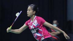 Indosport - Putri Kusuma Wardani maju ke final PBSI Home Tournament.