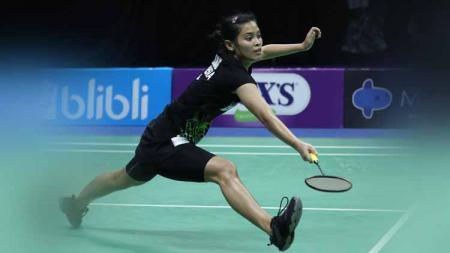 Gregoria Mariska akan menghadapi Putri Kusuma Wardani di final Mola TV PBSI Home Tournament, Jumat (24/07/20). - INDOSPORT