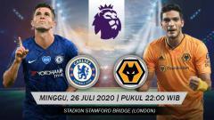 Indosport - Berikut prediksi pertandingan anntara Chelsea vs Wolverhampton di pekan terakhir Liga Inggris, Minggu (26/07/20) malam WIB.