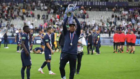 Kehebatan Kylian Mbappe membuat Rio Ferdinand menyebutnya sebagai jelmaan striker fenomenal, Ronaldo. - INDOSPORT