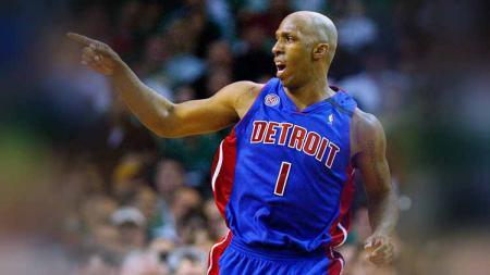 Chauncey Billups saat masih membela Detroit Pistons. - INDOSPORT